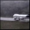 Aquaplanning à l'atterrissage