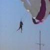 Parachute planté